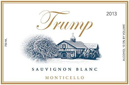2013 Trump Winery Sauvignon Blanc 750 Ml