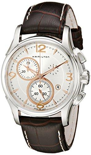 Hamilton Men's H32612555 Jazzmaster Chronograph Silver Dial Watch