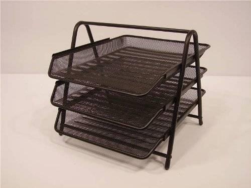 black-metal-wire-mesh-3-tier-desk-sliding-letter-tray-unit