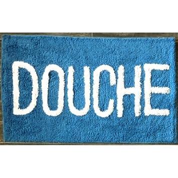 a tapis salle de bain bain douche bleu cuisine maison z162. Black Bedroom Furniture Sets. Home Design Ideas