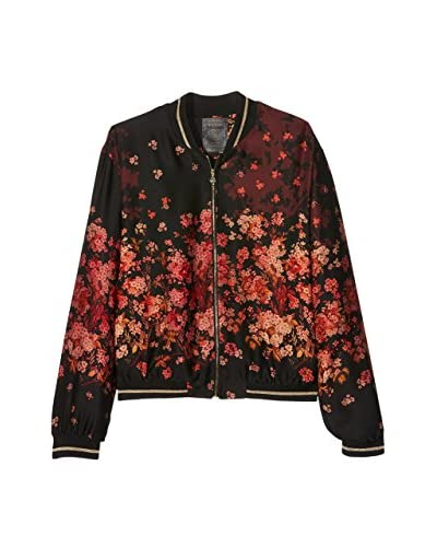 Guess Chaqueta Flower Shaded Bomber