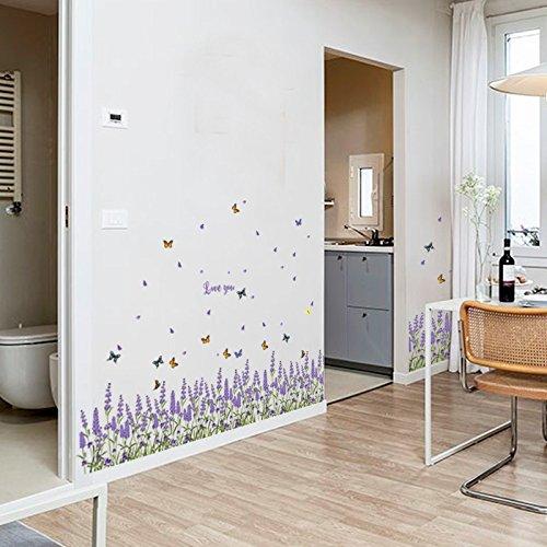 Lavendel fu leiste veranda schlafzimmer wohnzimmer k che for Bad fliesen ideen kauf