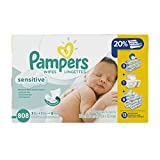 Less wiping for more gentle cleaning Changing your baby can be one of the most loving moments of the day. With Pampers Sensitive wipes' unique Softgrip Texture, your baby will enjoy less wiping for more gentle cleaning. They are clinically proven mil...