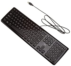 generic 003 computer wire keyboard for hp lenovo black computers accessories. Black Bedroom Furniture Sets. Home Design Ideas
