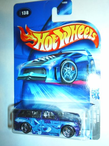 "Hot Wheels Boom Box ""Tag Rides"" NO HEADLIGHT CARD #138 (2004) - 1"