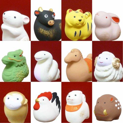 New zodiac figurines year decorations japan