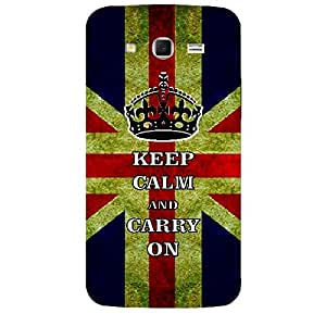 Skin4gadgets Keep Calm and CARRY ON - Colour - UK Flag Phone Skin for SAMSUNG GALAXY GRAND 2 ( G7106)