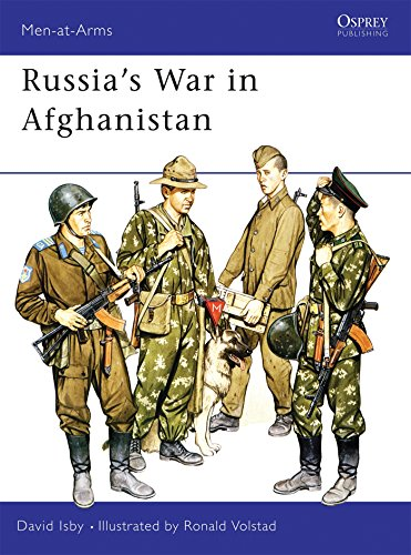 Russia's War in Afghanistan (Men-at-Arms)