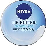 Nivea Lip Butter Loose Tin Smooth Kiss 0.59 Ounce