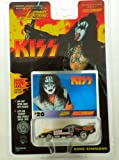 Johnny Lightning - KISS/Gene Simmons - Racing Dreams vehicle w/bonus photo card #42