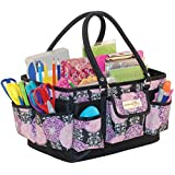 Everything Mary Deluxe Scrapbook Organizer, Large, Purple/Black