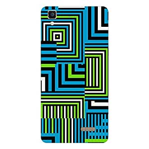 Garmor Designer Silicon Back Cover For Reliance Lyf Water 5