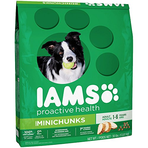 IAMS PROACTIVE HEALTH Adult MiniChunks Dry Dog Food 30 Pounds (Dog Food Supplies compare prices)