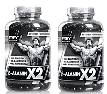 Frey Nutrition Beta Alanin X2 2 x 250 Kapseln a 1000mg 2er Pack ( 500 g )