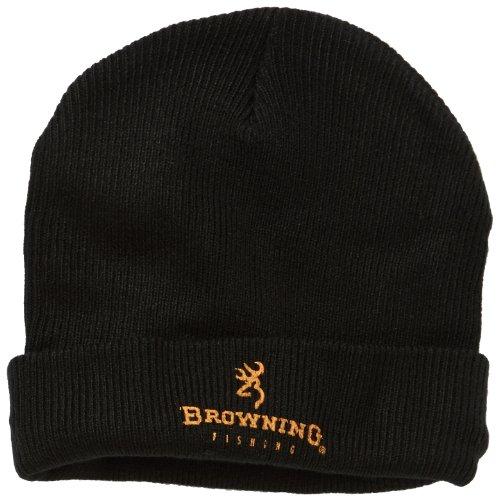Browning - Berretto in maglia, Nero, Taglia L