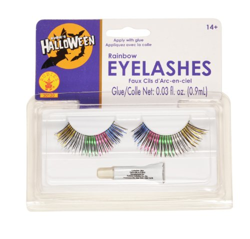Rubies Rainbow Eyelashes