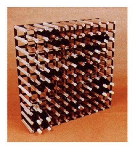 Vinotemp VT-CT110 110 Bottle Cellar Trellis Wooden Wine Rack (Vinotemp 110 compare prices)