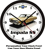 1964 CHEVROLET IMPALA SS WALL CLOCK-NEW!-Free USA Ship-CHOOSE 1 OF 5