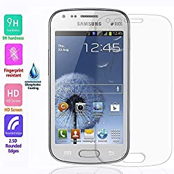 QAWACHH Tempered Glass For Samsung Galaxy S-Duos2 7582