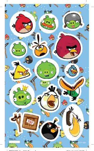 Angry Birds 2 Sheets/ 2 Feuilles stickers Autocollants - 1