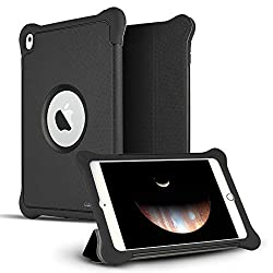 iPad Pro 9.7 Case, CASEFORMERS Armor iPad Pro Shield Cover Flip Case with Stand for iPad Pro 9.7 - BLACK [Heavy Duty] with Smart Flip Cover Screen Protection (Fits 9.7-inch iPad Pro Only)