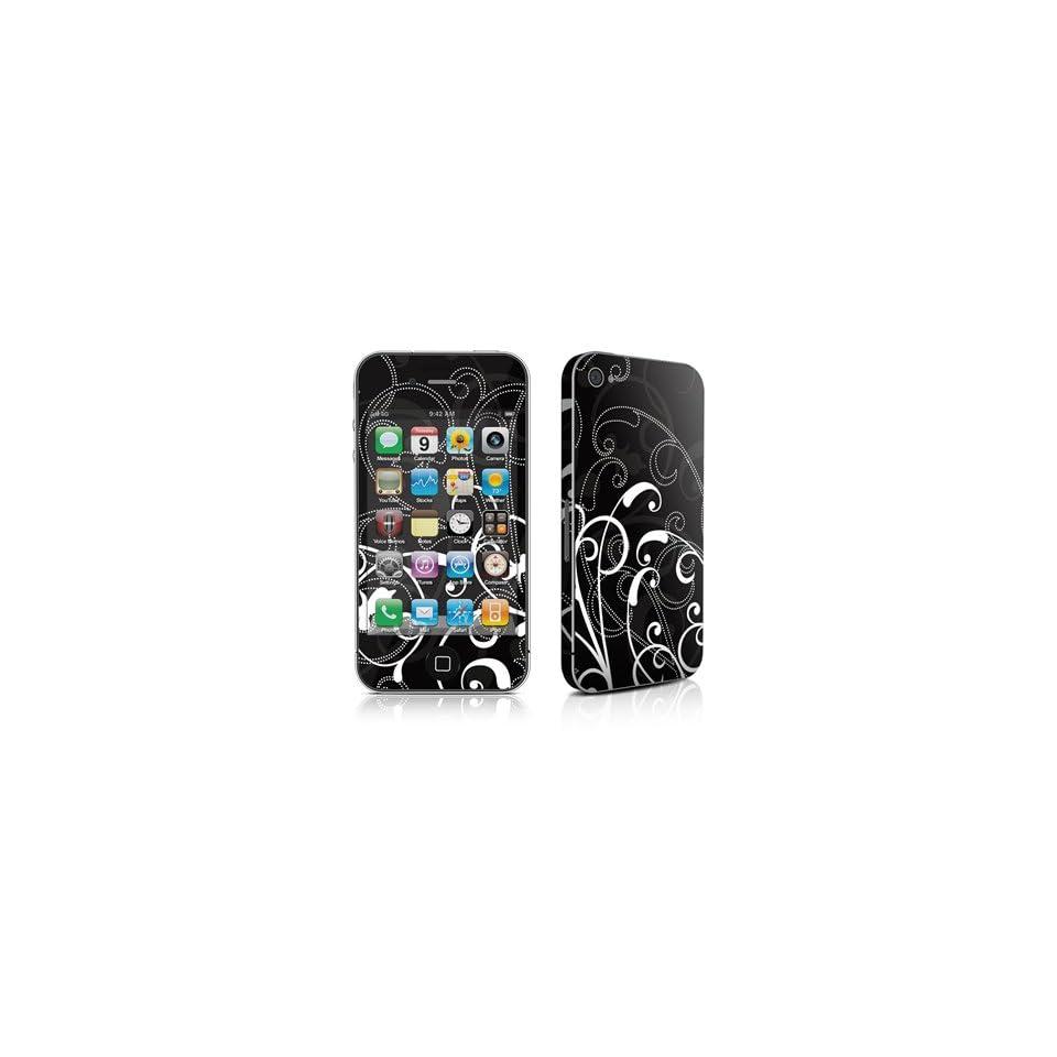 iPhone 4 / 4S Skin Cover Gehäuse Design Schutzfolie, Sticker + Bumper