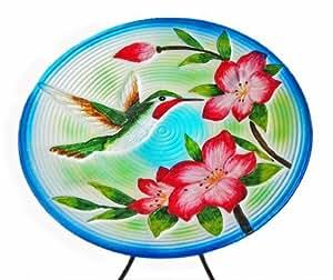 Amazon.com - Centro CAC40187 15 pulgadas Colibrí Glass Bird Bath
