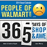 img - for 2014 People of Walmart boxed calendar book / textbook / text book