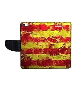 KolorEdge Printed Flip Cover For Apple IPhone 5 Multicolor -(43KeMLogo12083IPhone5)