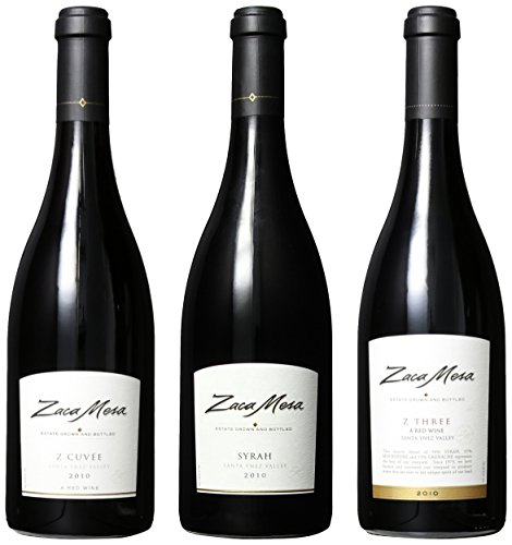 Zaca Mesa Premium Red Selections Mixed Pack, 3 X 750 Ml