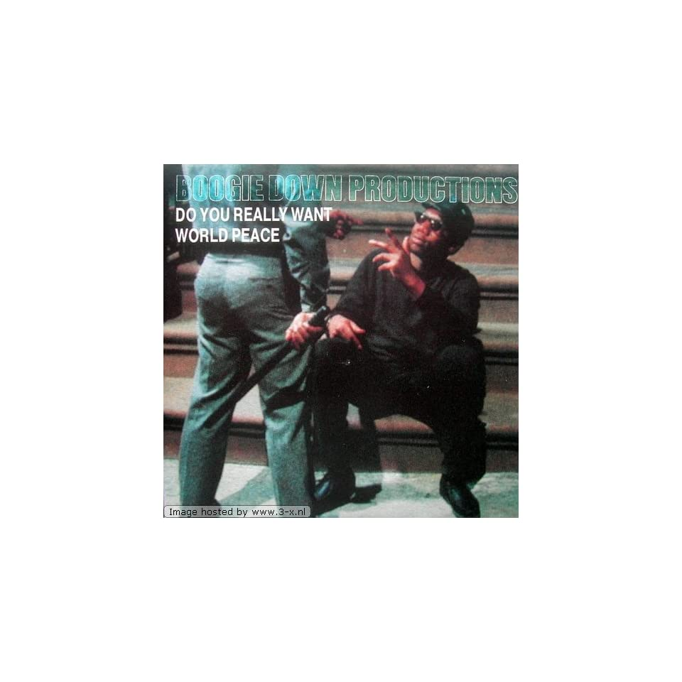 Boogie Down Productions Say No Brother Crack Attack Dont Do It