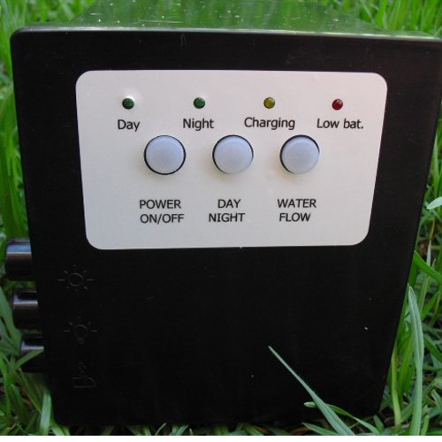Gtmax 20 Watt Solar Powered Panel Garden Water Fountain