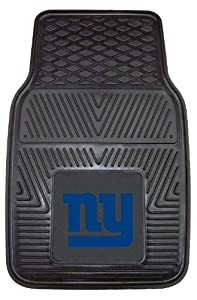 FANMATS NFL New York Giants Vinyl Heavy Duty Vinyl Car Mat by Fanmats