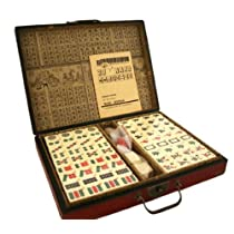 Collectible Chinese Antique Style Mahjong Game Set