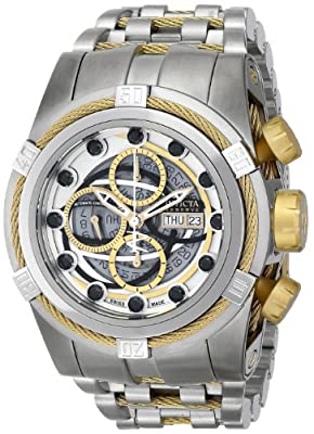 Invicta Men's 14307 Bolt Analog Display Swiss Automatic Silver Watch