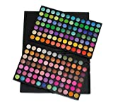 Eforstore New Professional 168 Full Color Neutral Warm Eyeshadow Makeup Palette Eye Shadow Camouflage Cosmetics Set for Women Girls