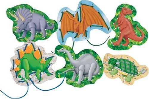 Patch Products Lacing Dinosaurs by Patch Products (English Manual)