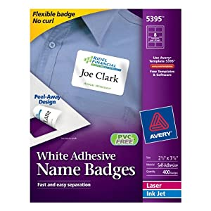 avery template 5395 identification badges supplies avery 5395