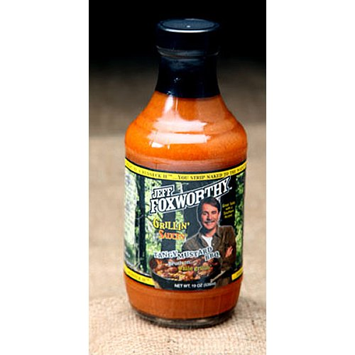 Jeff Foxworthy Tangy Mustard BBQ Sauce 19Oz