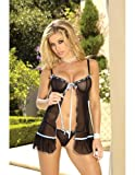 Babydoll with G-String Sm ~ sexy negligee