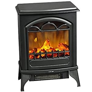 elektrokamin elektroheizung inkl thermostat. Black Bedroom Furniture Sets. Home Design Ideas