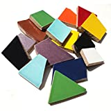 Mosaic Mercantile Crafter's Cut Ceramic Mosaic Tile, 2-Pound, Assorted