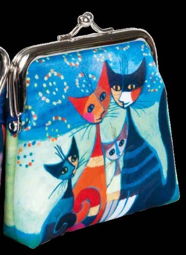 Momenti di felicita / Moments of happiness - Cat Family Coin Purse designed by Rosina Wachtmeister