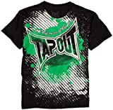 Tapout Boys 8-20 Escape Short-Sleeve Tee, Blackest, Large