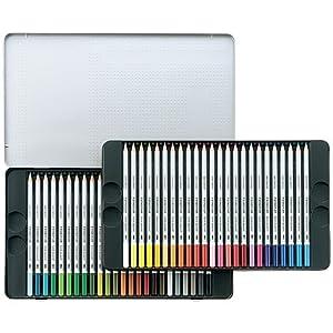 ステッドラー カラトアクェレル125 水彩色鉛筆 (48色) 125 M48
