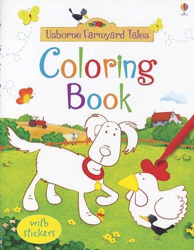 usborne farmyard tales coloring book coloring books - Usborne Coloring Books