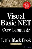img - for Visual Basic .NET Core Language Little Black Book book / textbook / text book