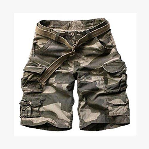 GG Camo shorts. uomo tooling pantaloncini. multi Pocket shorts. casual shorts. spiaggia maschile pantaloni , camouflage , xxxl