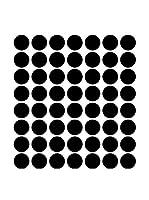 Ambiance Sticker Vinilo Decorativo 50 Piezas Black Dot Decals