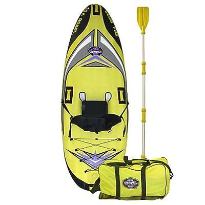 2011 Durable Rave Sea Rebel Inflatable Kayak/Canoe